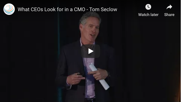 What CEOs Look for in a CMO