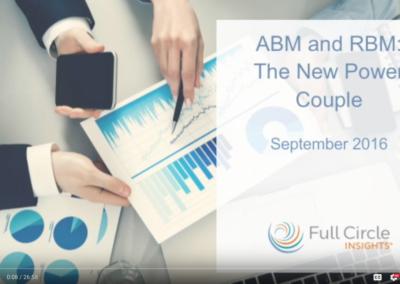 ABM and RBM: The New Power Couple