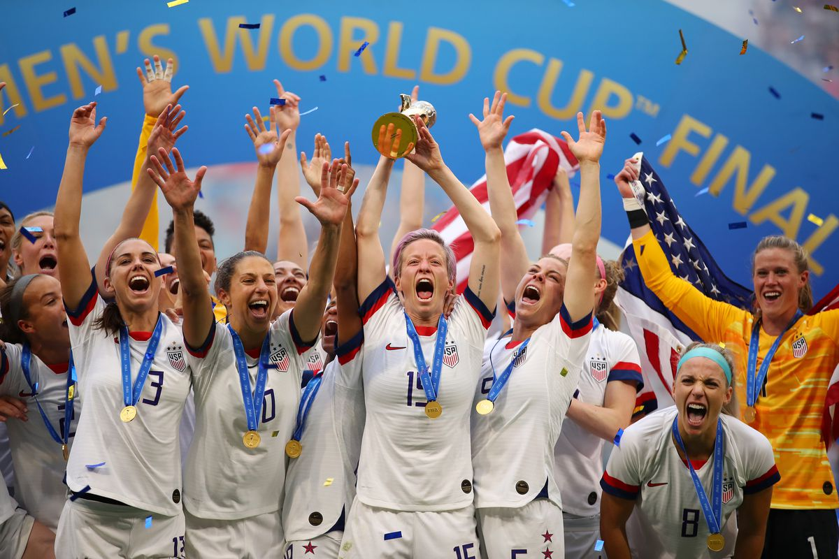 2019 FIFA Women's World Cup Champions - Team USA