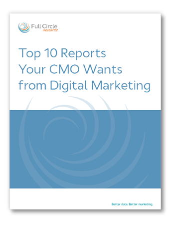 Top 10 Reports Your CMO Wants from Digital Marketing