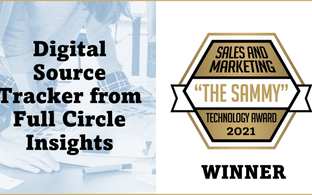Digital Source Tracker from Full Circle Insights Wins Product of the Year