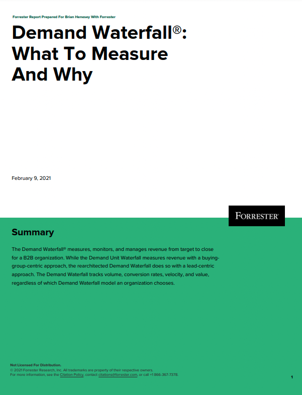 Demand Waterfall®: What To Measure And Why